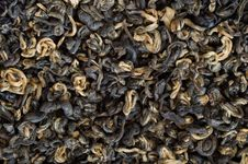 Free Leaves Of  Black Tea Royalty Free Stock Images - 4352309