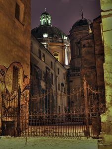 Free Churches Of Old Lvov Stock Photography - 4352372