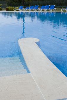 Swiming Pool Royalty Free Stock Photo