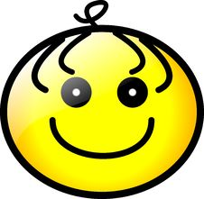Free Smiley Face Icon Vector Format Stock Photography - 4352642