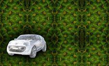 Free Car Illusion Stock Image - 4352821