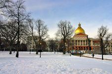 Free Boston Winter Stock Images - 4353514