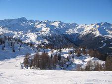 Free Ski Run Royalty Free Stock Image - 4353666