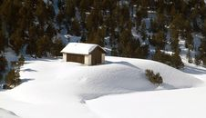Free Snow House Royalty Free Stock Images - 4353679