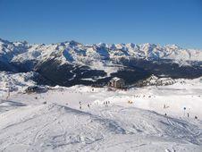 Free Sunny Ski Run Stock Photos - 4353883