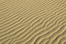 Free Sand Dunes Near Stovepipe Wells, Death Valley Stock Photography - 4354282
