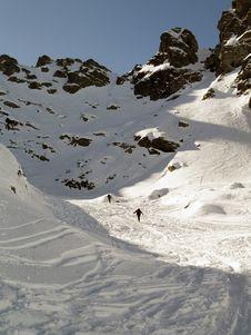 Free Alpine Skiing Stock Photo - 4354340