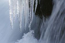 Free Icicle And Waterfall Stock Images - 4354394