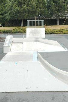 Free Skateboarding Ramp. Stock Photos - 4354623