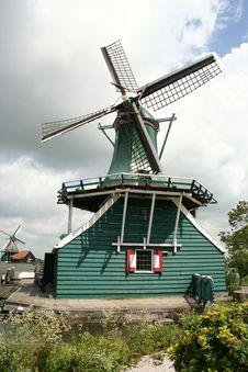 Free Dutch Windmill Stock Photos - 4355023