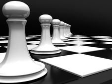 Free Chess Royalty Free Stock Photography - 4355307