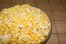 Free Hot Buttered Popcorn Stock Image - 4356641