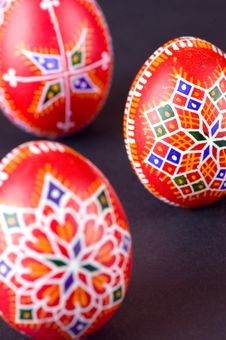 Free Easter Eggs Detail Royalty Free Stock Image - 4356856