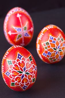 Free Easter Eggs Detail Royalty Free Stock Images - 4356869