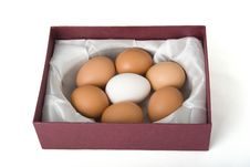 Easter Box Royalty Free Stock Images