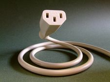 Free Electronics Power Cable Royalty Free Stock Photography - 4357687