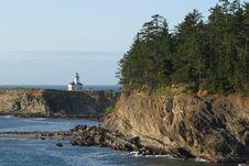 Free Cape Arago Lighthouse Stock Image - 4357941