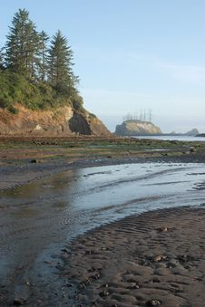 Free Sunset Bay Royalty Free Stock Photography - 4357997