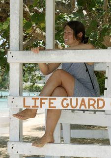 Free The Life Guard Stock Photos - 4358213