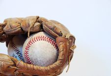 Free Baseball & Glove Stock Images - 4358364