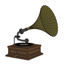 Free Old Gramophone Royalty Free Stock Photos - 4358408