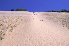 Steep Dune 3 Stock Image
