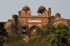 Free Old Fort, New Delhi Stock Photography - 4358612