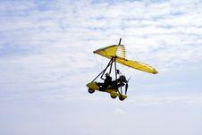 Free Ultralight Aircraft 1 Stock Photo - 4359290