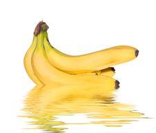 Free Bunch Of Bananas Stock Photos - 4359923