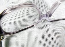 Free Glasses On The Cloth Royalty Free Stock Images - 43523229