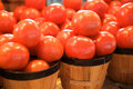 Free Tomatoes For Sale On A Market Stall Royalty Free Stock Photos - 4360968