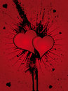 Free Heart Grunge Splatter Royalty Free Stock Photo - 4366405