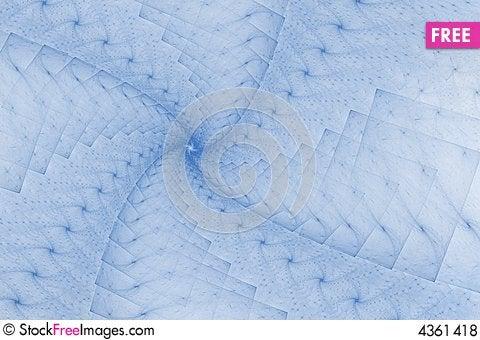 Free Fractal Blue Design Royalty Free Stock Photos - 4361418
