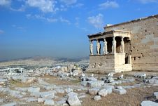 Free Acropolis Royalty Free Stock Images - 4360339
