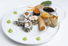 Free Sushi Platter Royalty Free Stock Photo - 4360595