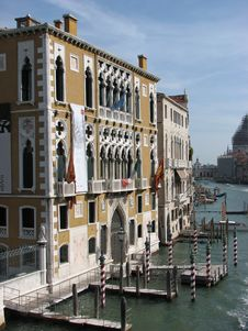Venetian Palace Royalty Free Stock Photo