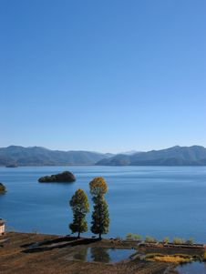Lugu Lake, China Stock Image