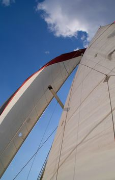 Free Sails Of Boat Royalty Free Stock Image - 4360686