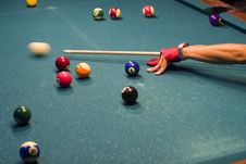 Billiards Stock Photography