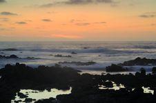 Pacific Sunset Stock Photos