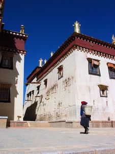 Free A Tibetan Buddhism Temple Stock Photography - 4361132