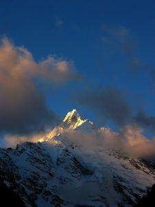 Free Meili Snow Mountain Royalty Free Stock Image - 4361256
