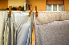 Free Bathrobe And Towel Royalty Free Stock Photos - 4361278