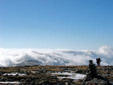 Free At The Top Of Mt.Taibai Royalty Free Stock Photos - 4361428
