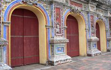 Free Asian Doorways Royalty Free Stock Photography - 4361987