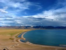 Free Namsto Lake, Tibet, China Stock Photo - 4362010