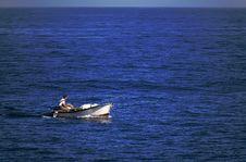 Free Fishing Boat Stock Photo - 4362110