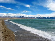 Free Scene Of Namsto Lake, Tibet Stock Photo - 4362510