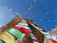 Free Tibet Flags Stock Photo - 4362760