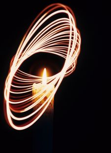 Free Candle Motion Stock Images - 4362824
